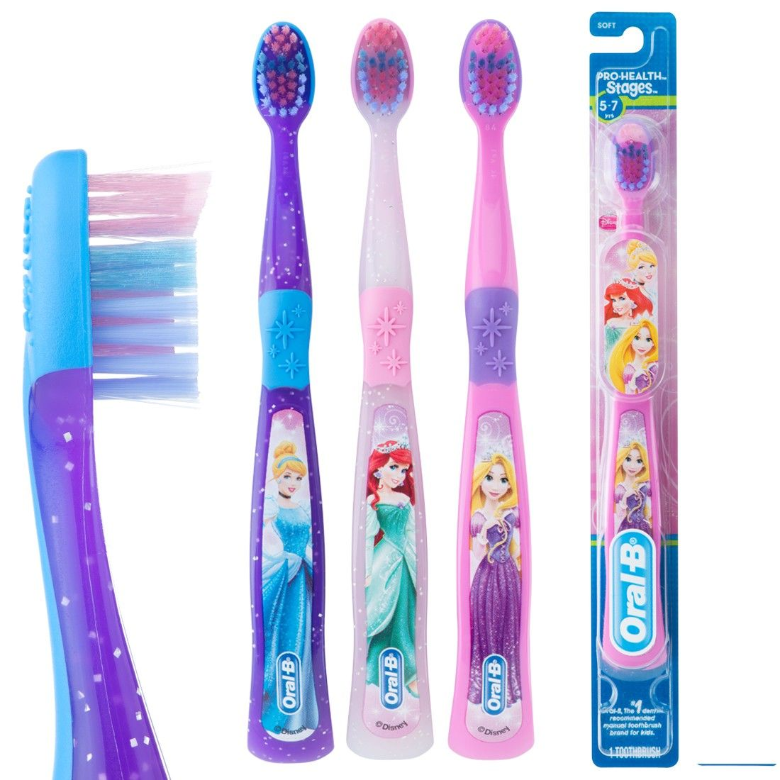 periuta de dinti oral b stages 3 disney princess soft. Black Bedroom Furniture Sets. Home Design Ideas