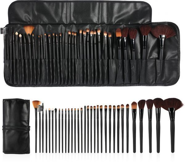 set-32-pensule-machiaj-make-up-all-black