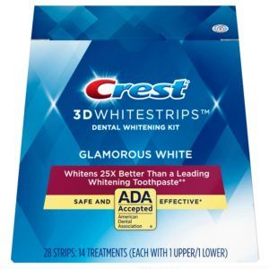 benzi-albirea-dintilor-crest-whitestrips-glamorous-white-new-tratament-14-zile